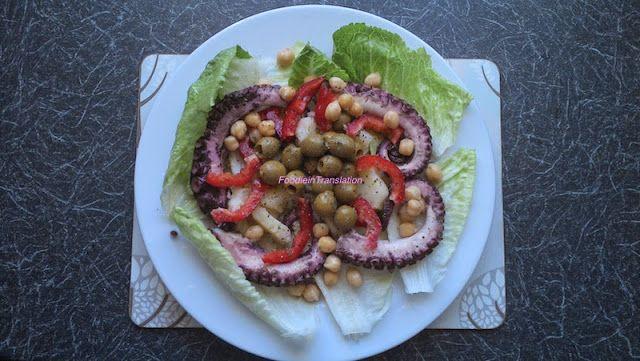 Foodie in Translation: Insalata di polpo e verdure