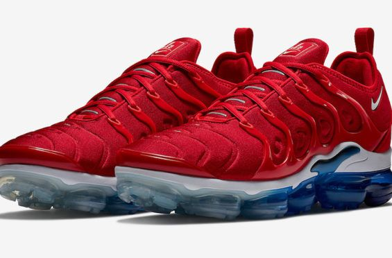 Get The Nike Air VaporMax Plus USA (Firecracker) Now The Fourth of July  already 6661dd598
