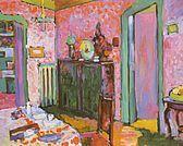 Interior My Dining Room - Wassily Kandinsky                                                                                                                                                                                 More