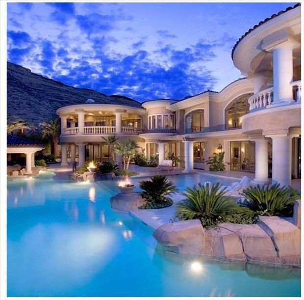 Meanwhile On My Dream Home Pinterest Board 32 Pics Mansions Luxury Pools Dream Pools