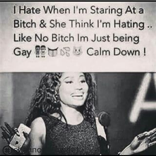 Lesbian Heyyy Calm Down Sarcastic Heyyy