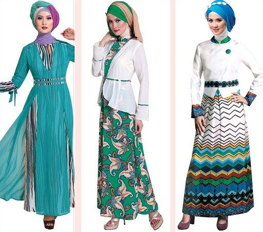 Contoh Model Baju Muslim Modern 2015 Hijab Fashion