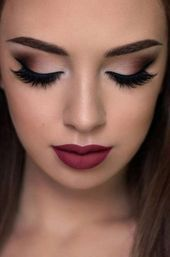Photo of 15 super Ideas wedding makeup fall brides lip colors       This image has get 2 …