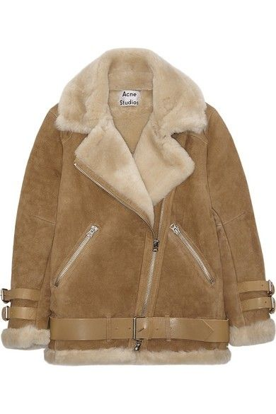 f197a7f0d857 Acne shearling jacket   My Style   Pinterest   Jackets, Shearling ...