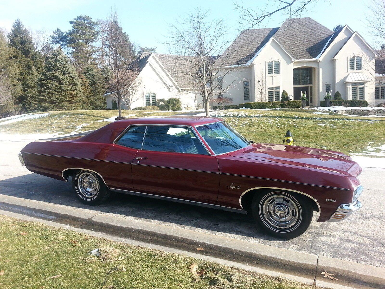 1970 Chevrolet Impala In Black Cherry Chevrolet Impala Chevy Impala Black Chevy Impala