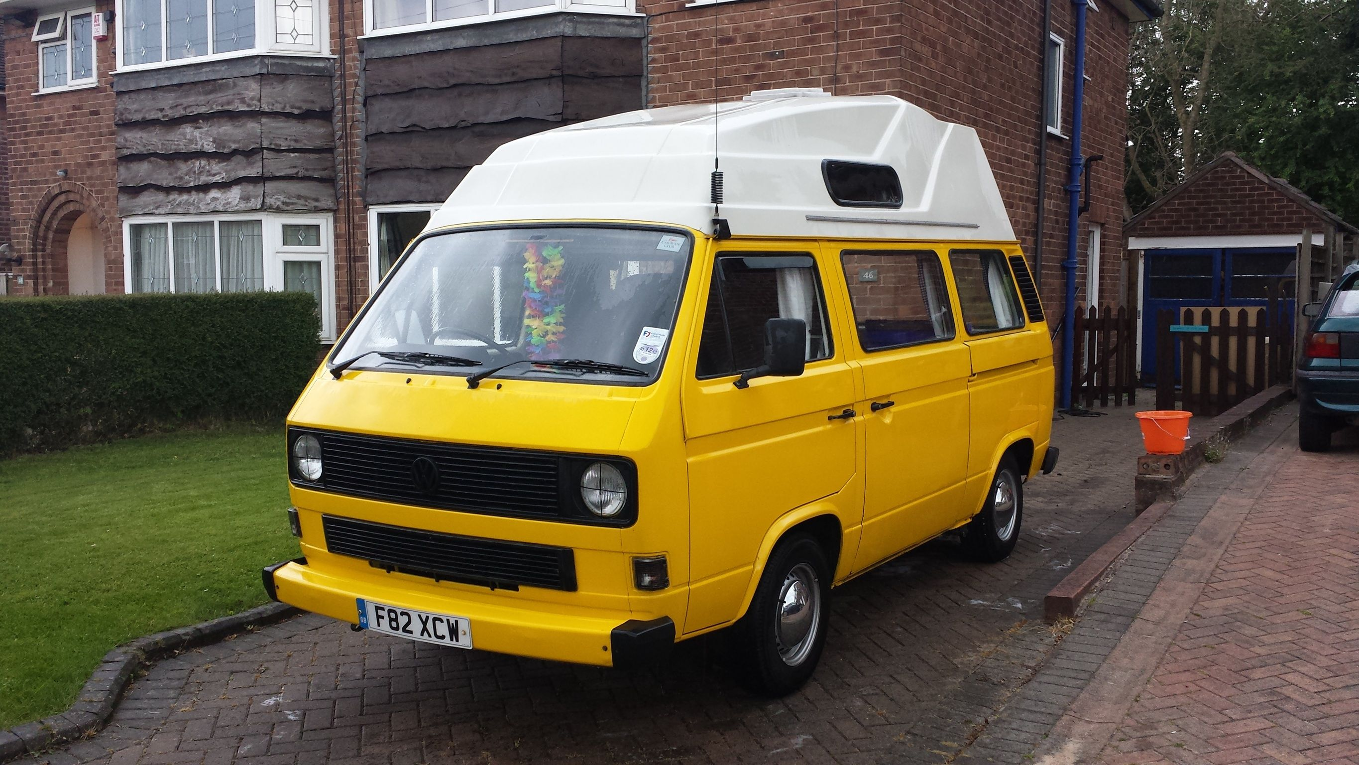 My 1989 VW T25 / T3 Hi top camper  With a 1 9td AAZ engine