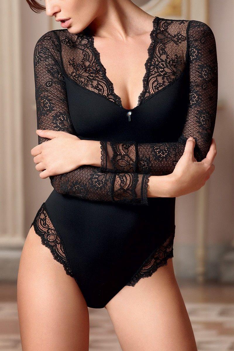 f2f7d3ddf body prêt-à-porter Dentelle Joaillerie - Lise Charmel -- black lace wear