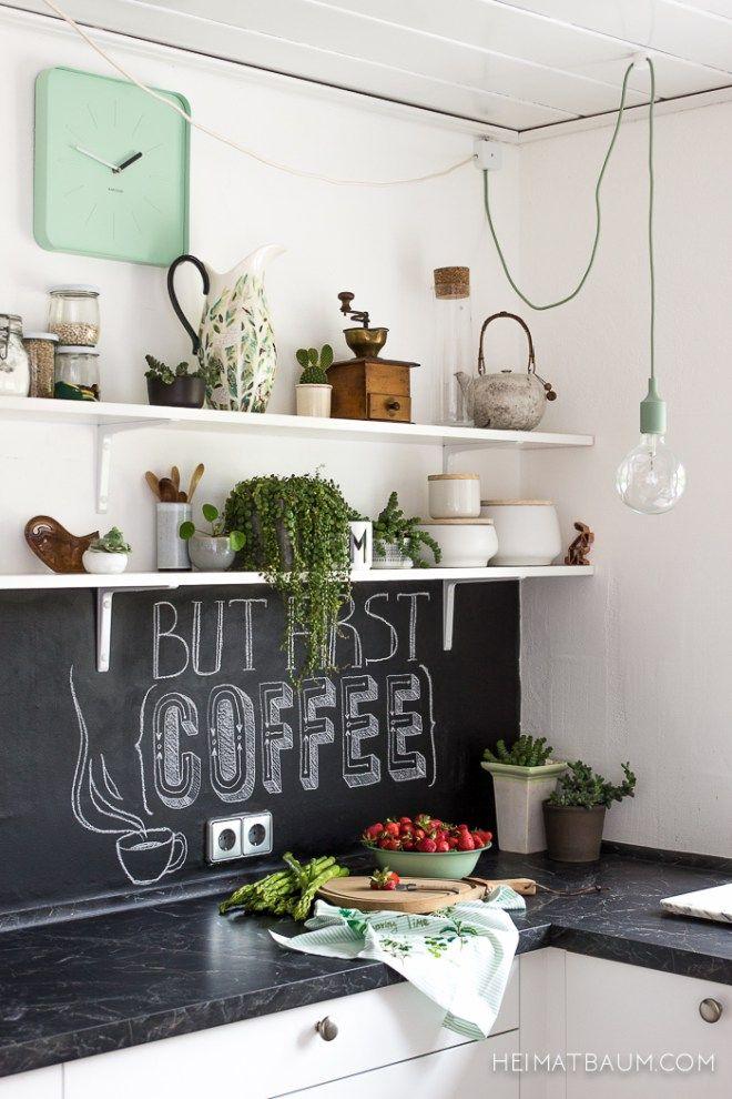 Die schwarze Pest in der Küche - HEIMATBAUM i n t e r i o r s - kleine küchenzeile ikea