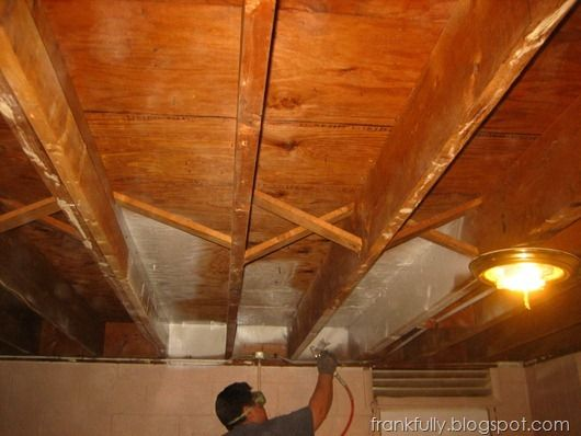 Our Unfinished Basement Waterproofing Basement Basement Ceiling Ideas Cheap Basement Ceiling Insulation