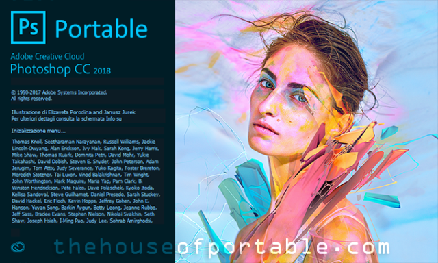 Adobe Photoshop CC 2018 Portable (v19 1 6) [Multilanguage