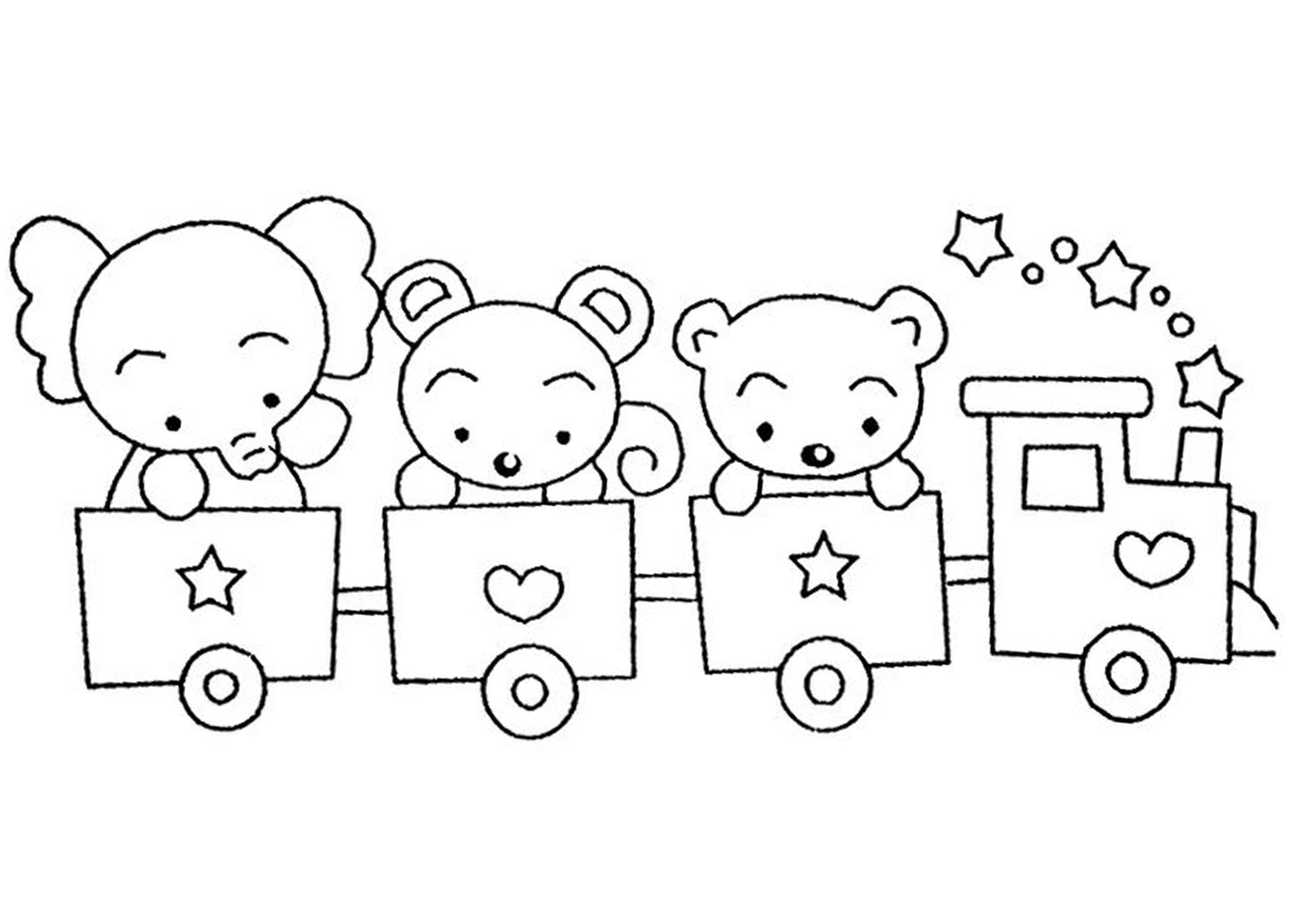 Free & Easy To Print Train Coloring Pages in 2020   Train ...
