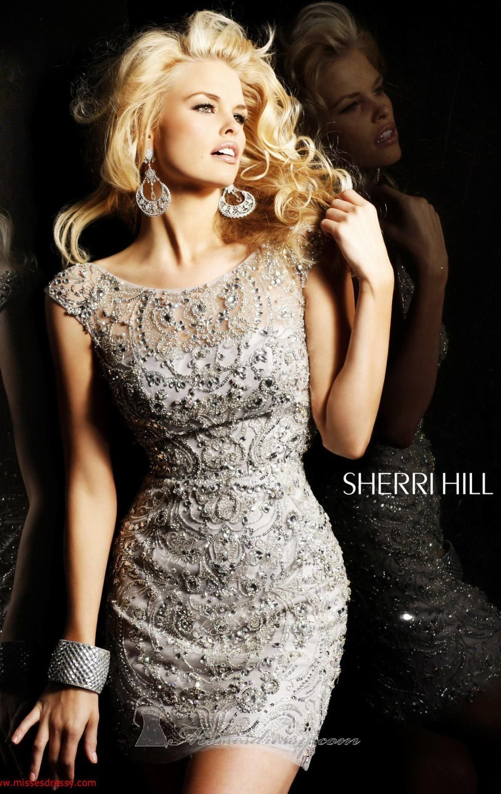 Sherri Hill 2948 Dress - MissesDressy.com | BORDADO E PED VESTIDOS ...