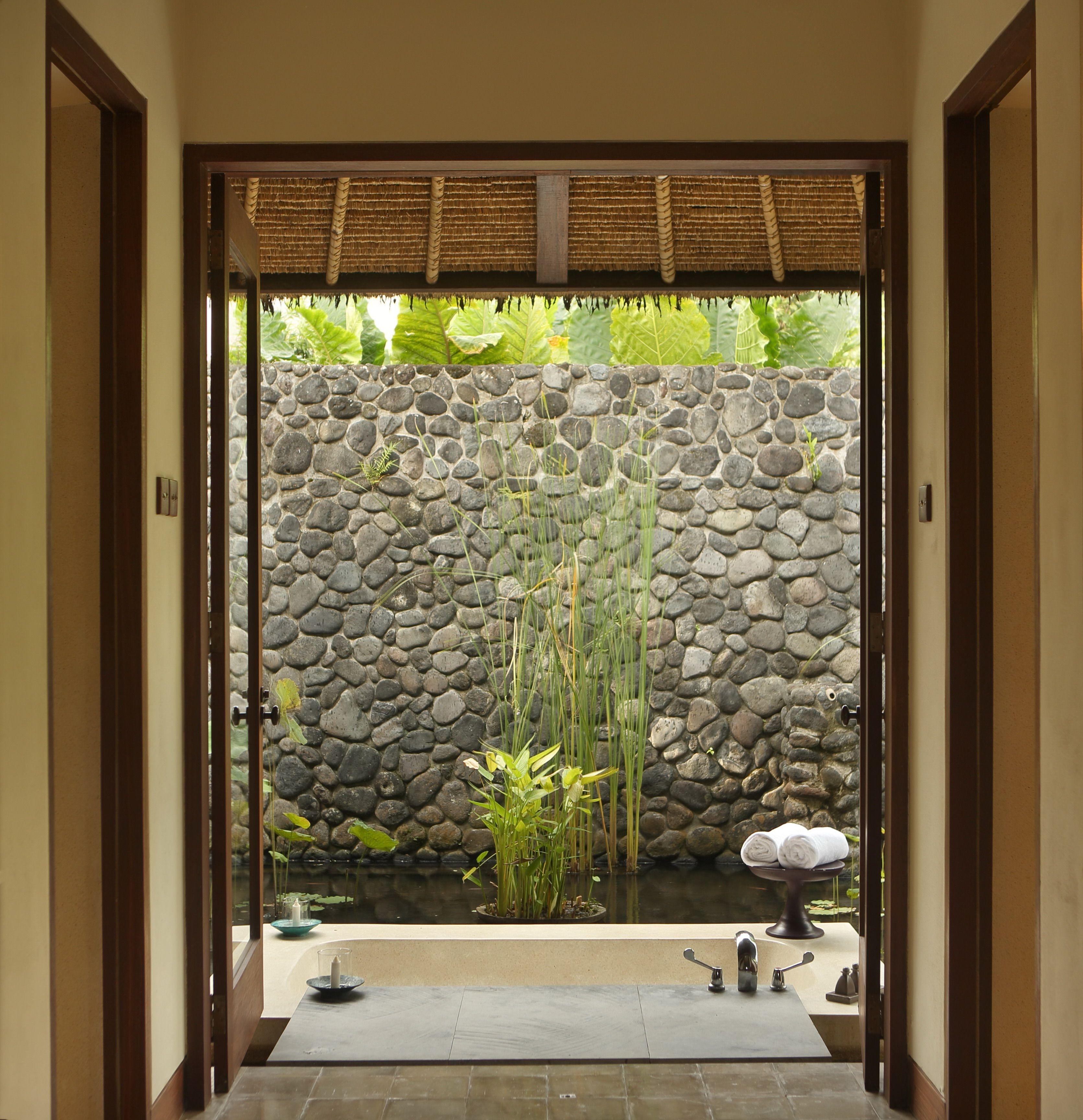 Outdoor Bathroom In Pool Villa - Alila Ubud, Bali