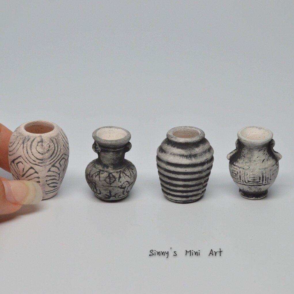 112 a set 4 pc of dollhouse miniature antique vase miniature 112 a set 4 pc of dollhouse miniature antique vase miniature publicscrutiny Choice Image