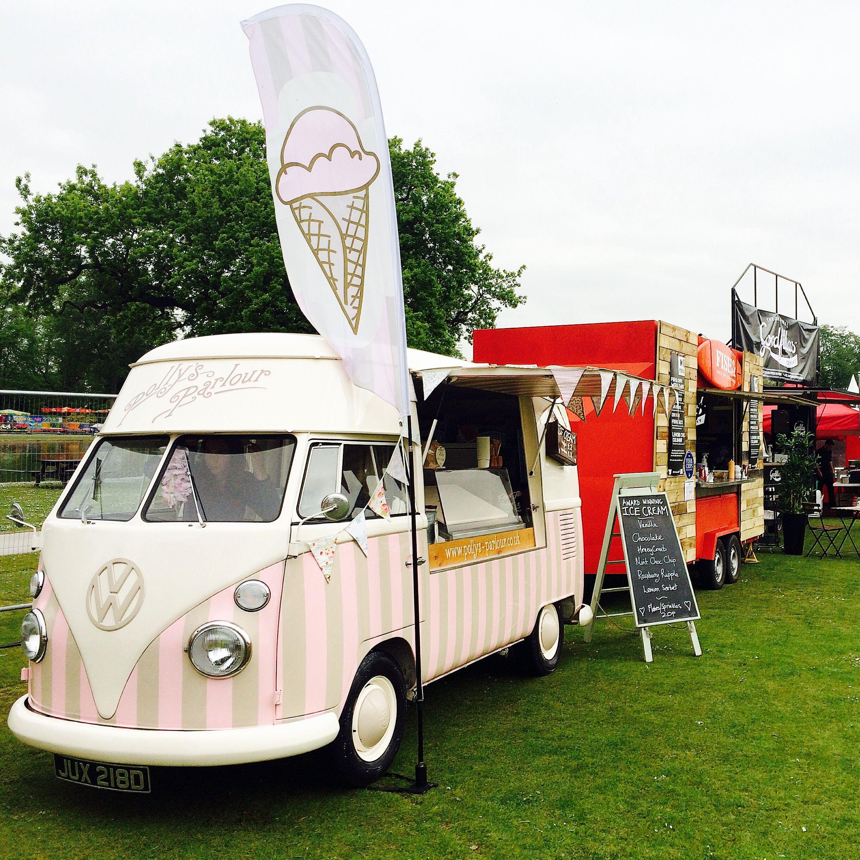 Volkswagen Birmingham Al: Florence Our Ice Cream Van At The Foodies Festival