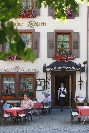 A typical Black Forest small hotel (Gasthof) Germany