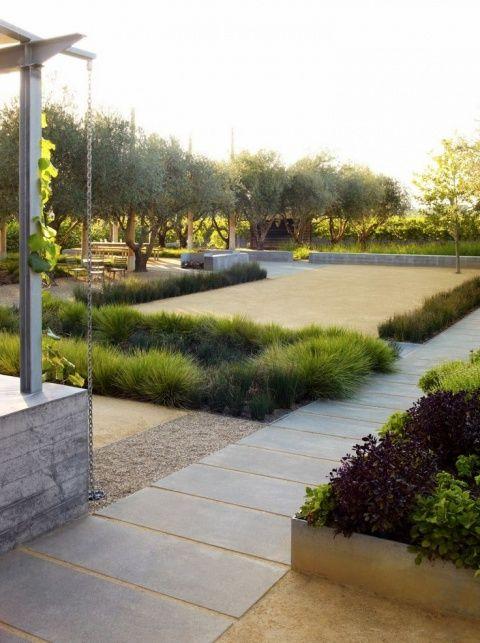 Medlock Ames Tasting Room Walkway Plants Modlar Com Modern