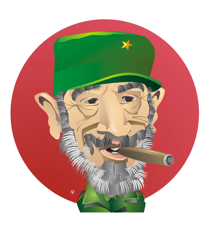 Fidel Castro Cartoon By Fernando Verissimo