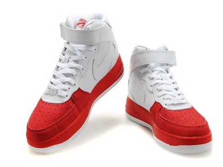 Nike Air Force 1 High WhiteVarsity Red | Nike | Sole Collector