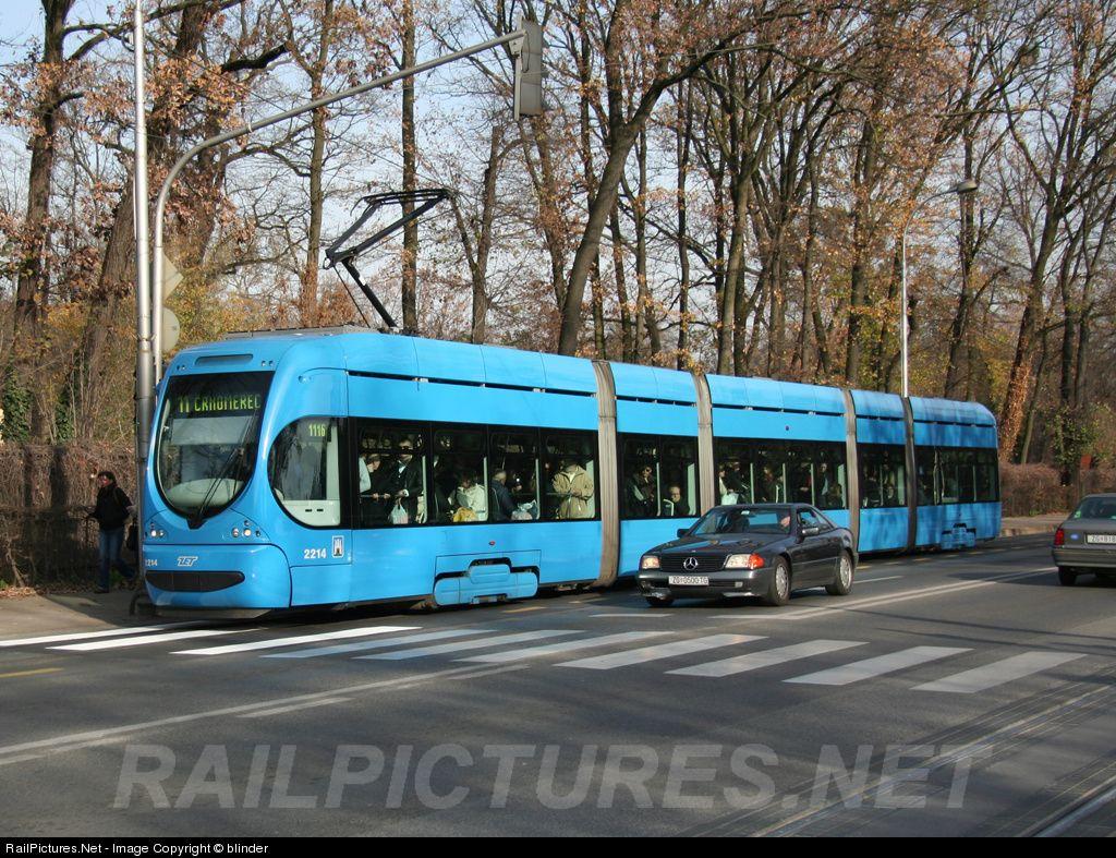 2214 Zet Zagrebacki Elektricni Tramvaj Tmk 2200 At Zagreb Croatia By Blinder Zagreb Croatia Croatia City Of Zagreb
