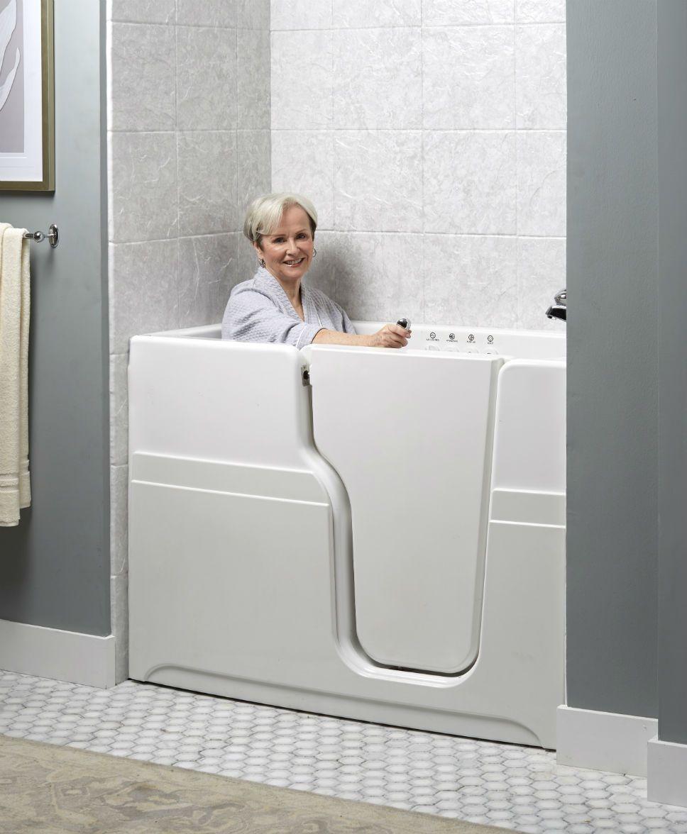 Captivating Walk In Bathtubs | Jacuzzi Baths
