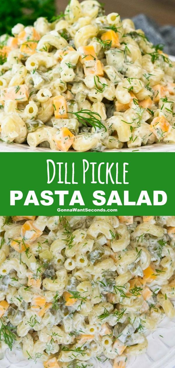 Dill Pickle Pasta Salad (Under 30-minute meals!)