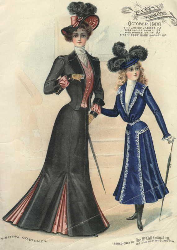 20th Century Fashion History 1900 1910 Pinterest