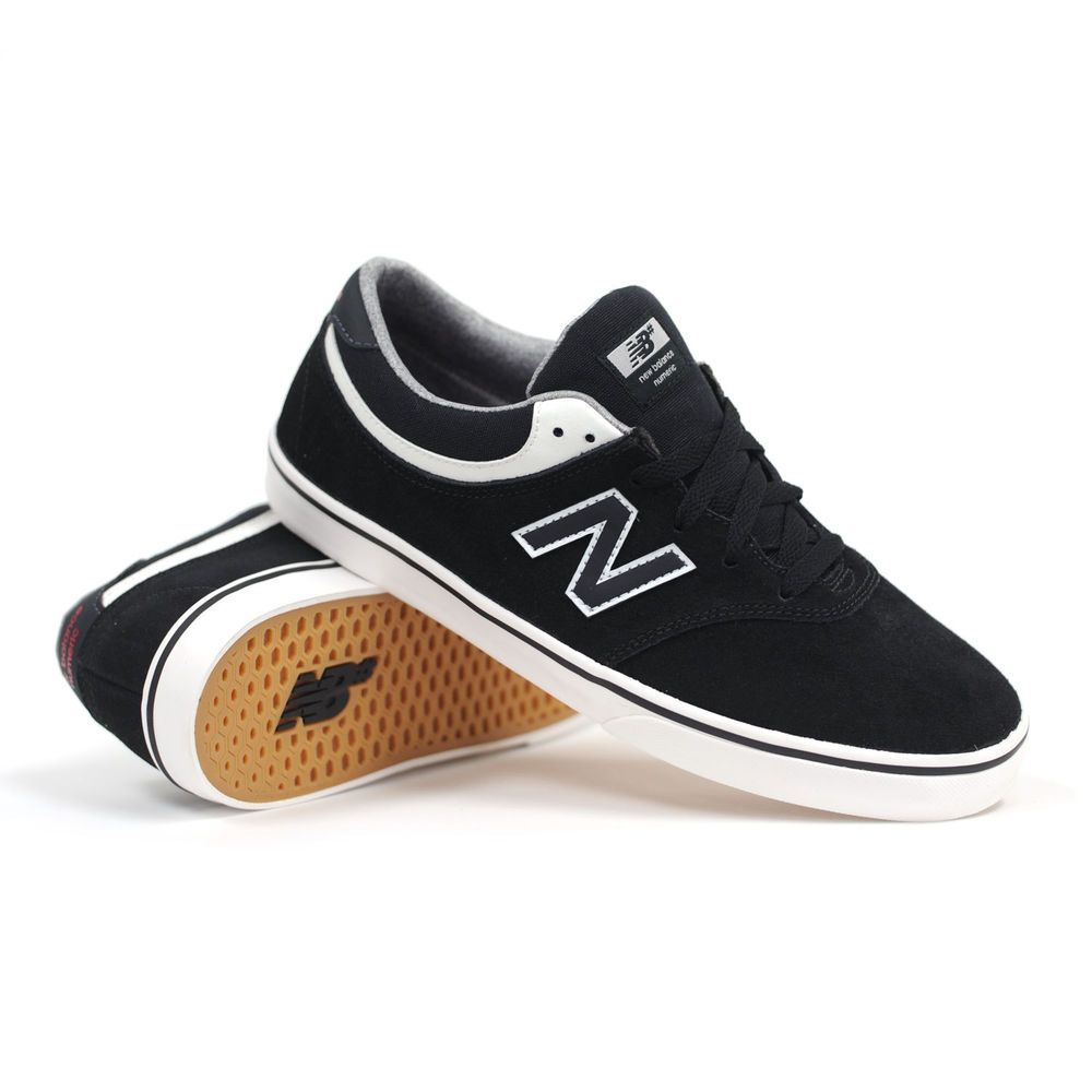 e50dc566d20ad New Balance Numeric Quincy 254 Black Men's Skate Shoes | eBay ...