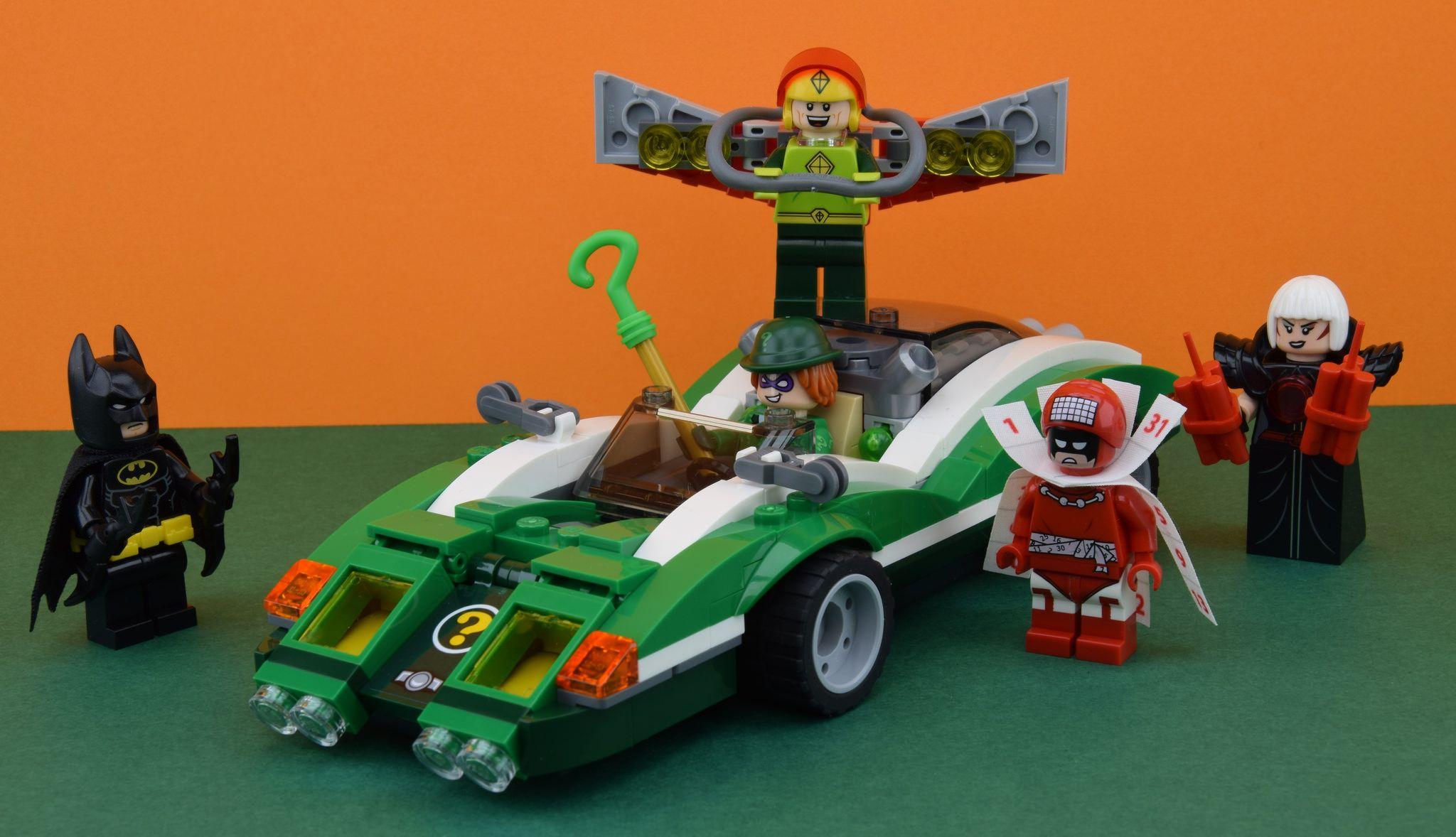 LEGO 70903 The Riddler Riddle Racer (avec images)