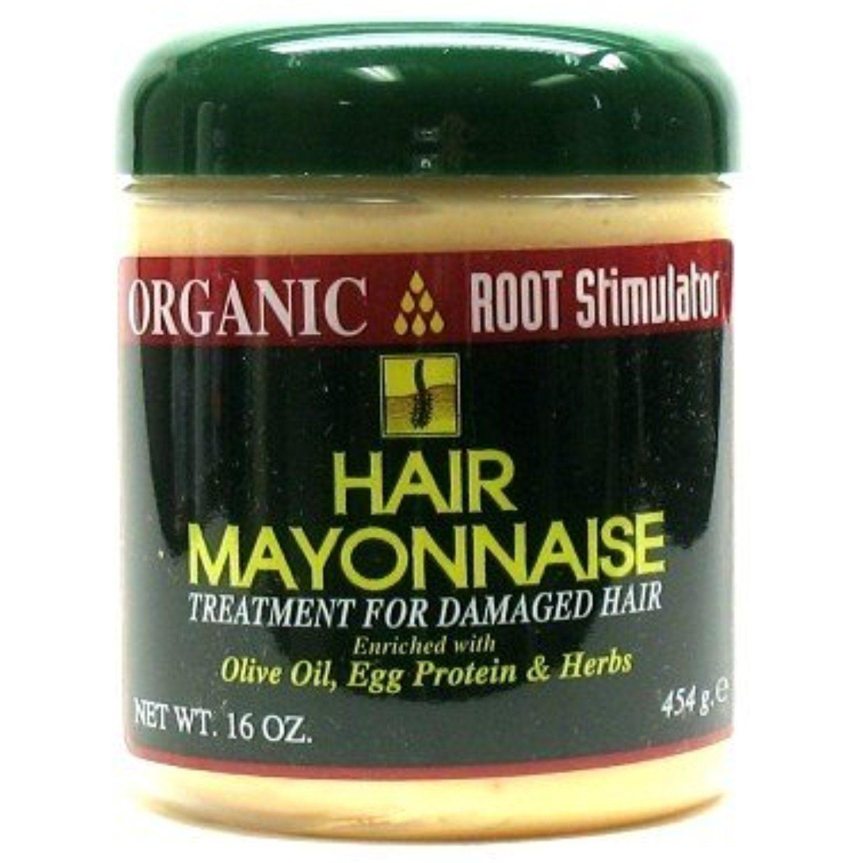 Organic Root Stimulator Hair Mayonnaise Treat 16 oz. (3