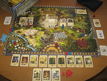 A short review of Pillars of the Earth, one of the best worker placement board games out there.