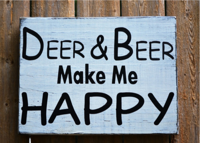 Funny Home Decor Signs Rustic Wood Home Decor Signs Humorous Bar Signs Funny Deer And