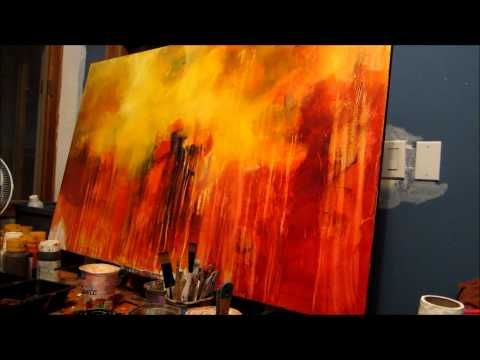 Abstract Painting: Acrylic Techniques
