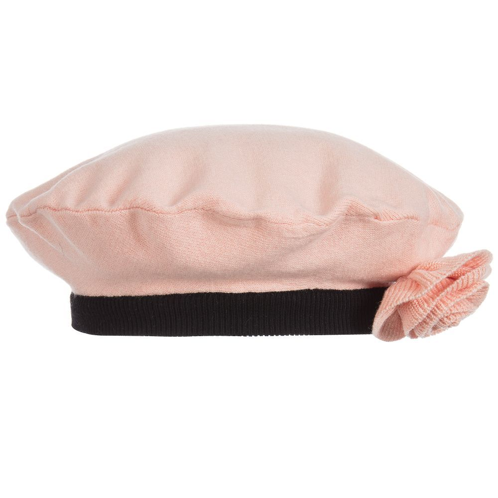 b41658c19 Full of French charm, this blush pink girls beret by Sonia Rykiel ...