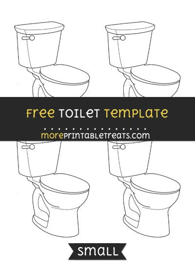 free toilet template small sewing and crafts templates crafts