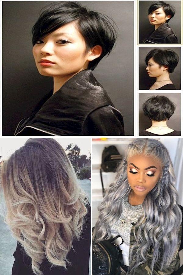 Cute Hairstyles For Straight Hair | Choppy Hairstyles | Easy Long Straight Hairstyles in 2020 ...