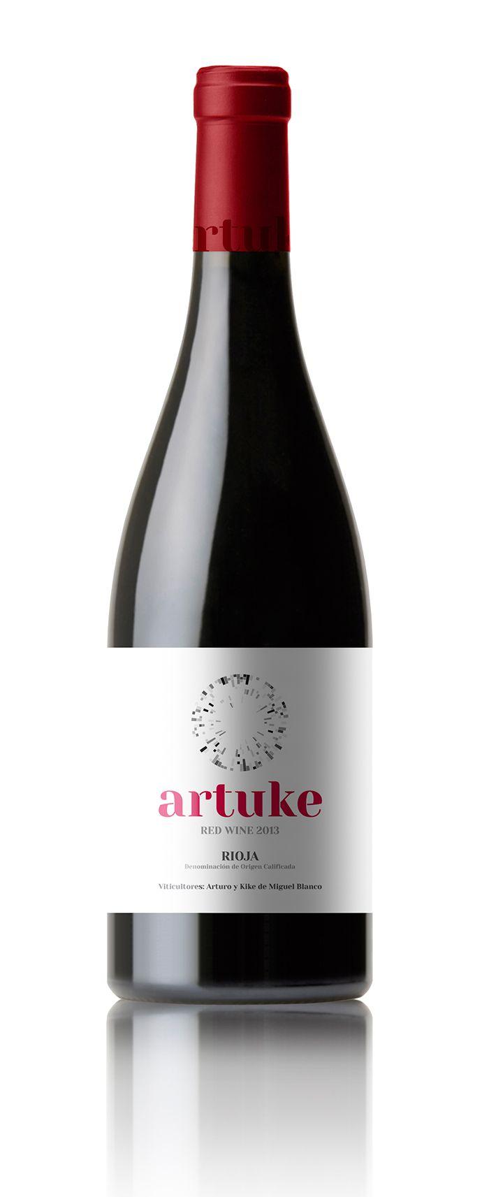 Artuke Maceracion Carbonica D O Rioja Wine Of Spain Hemos Querido Plasmar Mediante Esta Nueva Presentacion La Sencillez Y Frescur Wein Baskenland Baskisch