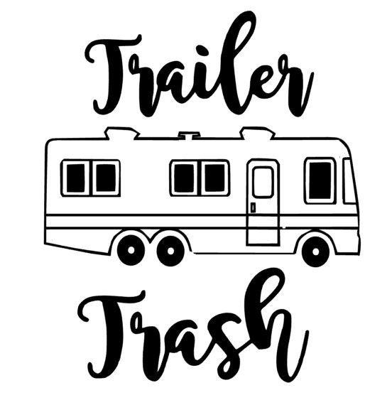 Fl Aevve Trailer Trash Funny Redneck Gypsy T Shirt