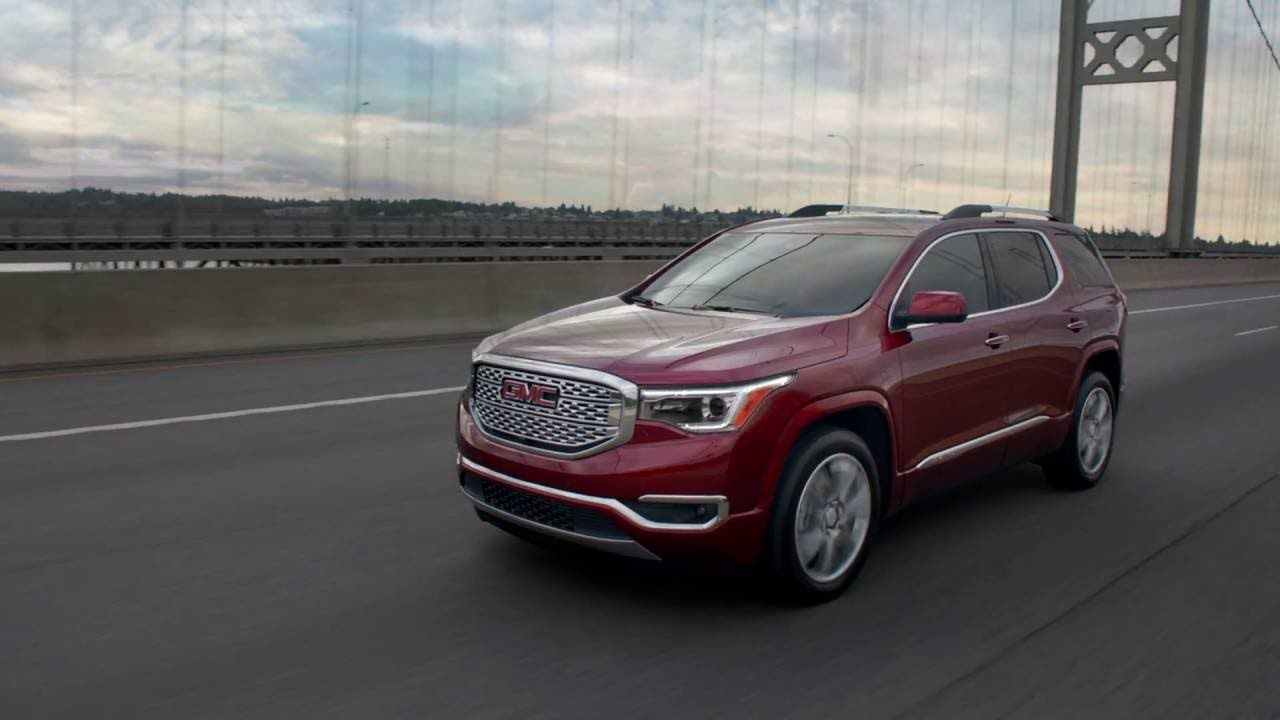 The All New 2017 Gmc Acadia The Next Generation Of Suv Has