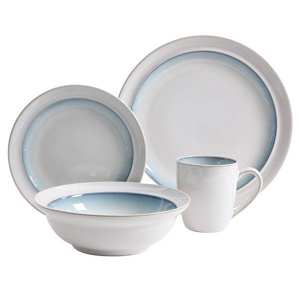 Gibson Elite Lawson Teal Stoneware 16-piece Dinnerware Set  sc 1 st  Pinterest & Gibson Elite Lawson Teal Stoneware 16-piece Dinnerware Set | Dishes ...