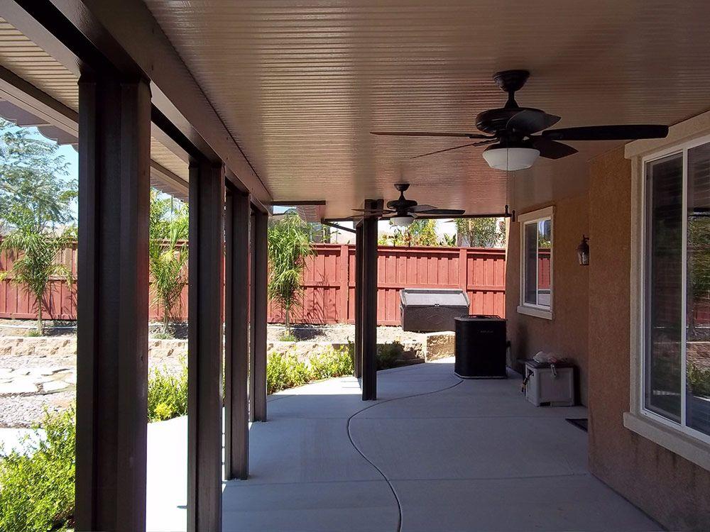 Duralum Solid Patio Cover - Duralum Solid Patio Cover Al Fresco Oasis Patio, Aluminum Patio