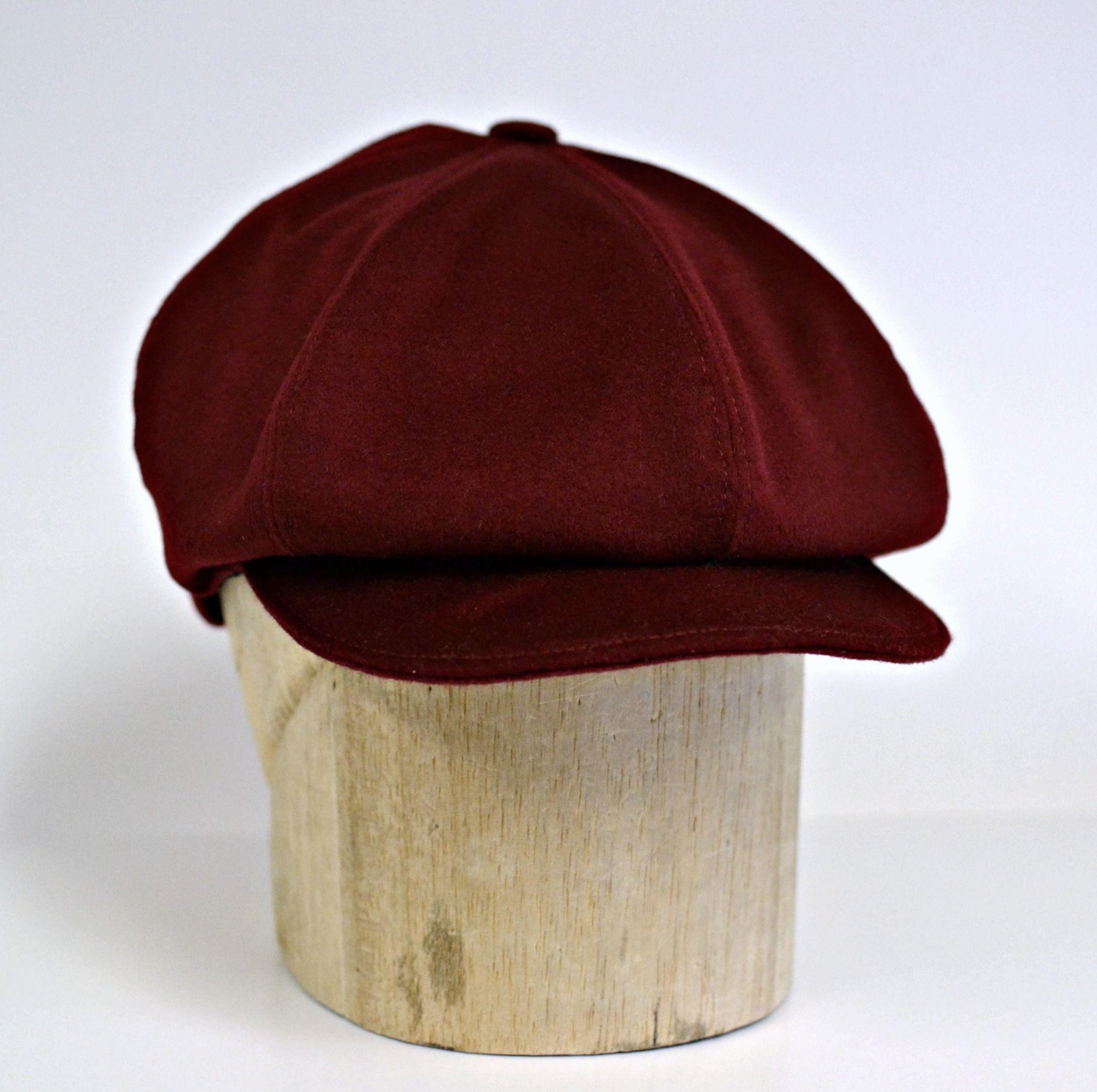 bd9ecafd4 Men's Newsboy Hat in Vintage Wool - Newsboy Cap - Men's Hat - Dark ...