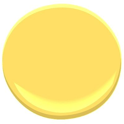yellow highlighter 2021-40 Paint - Benjamin Moore yellow highlighter Paint  Color Details