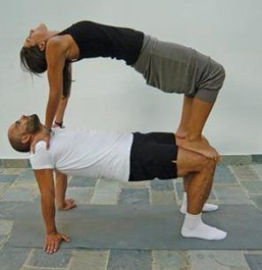 10 easy and best yoga poses for two people  parijooga
