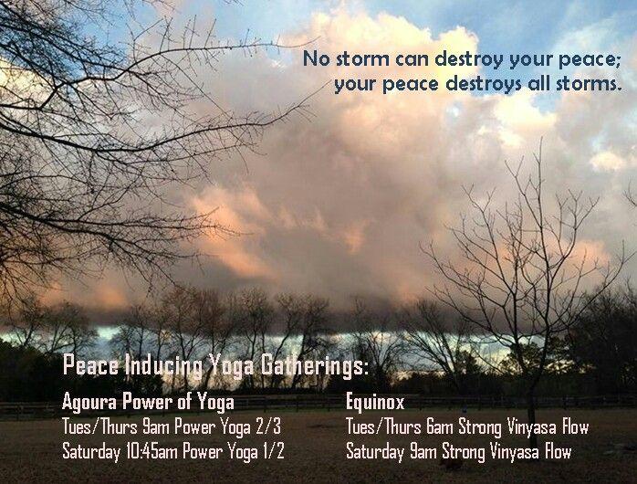 Peace-inducing yoga