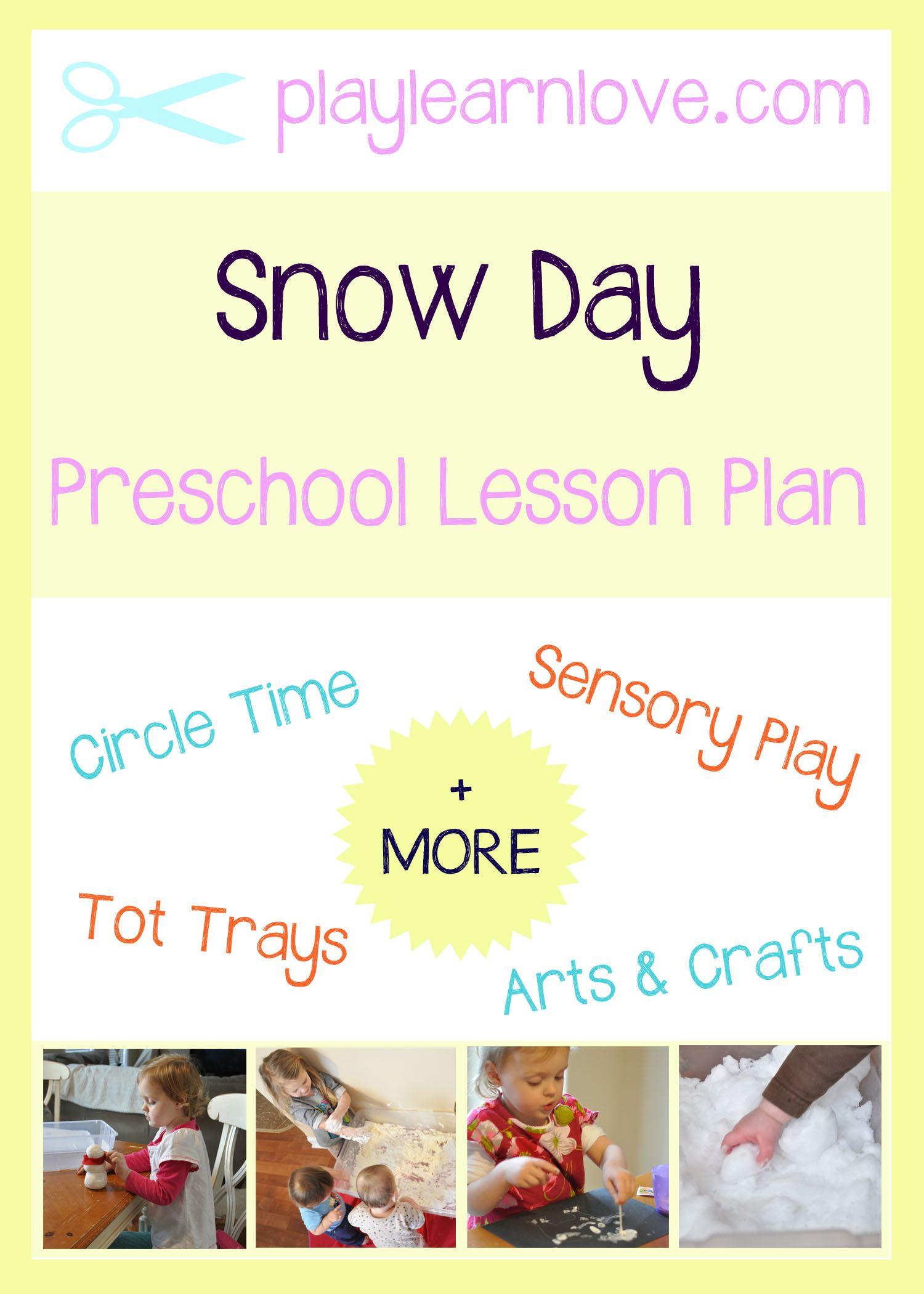 Snow Day Lesson Plan