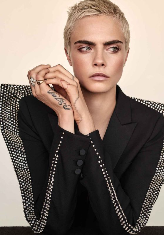 Cara Delevingne The Edit September 2017 Coole Frisuren