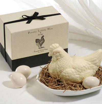 Pretty Little Hen soap...too cute!