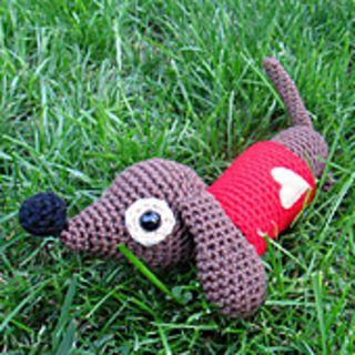 Amigurumi Dachshund Dog Pattern By Ana Paula Rimoli Dackel Hunde Und Hering