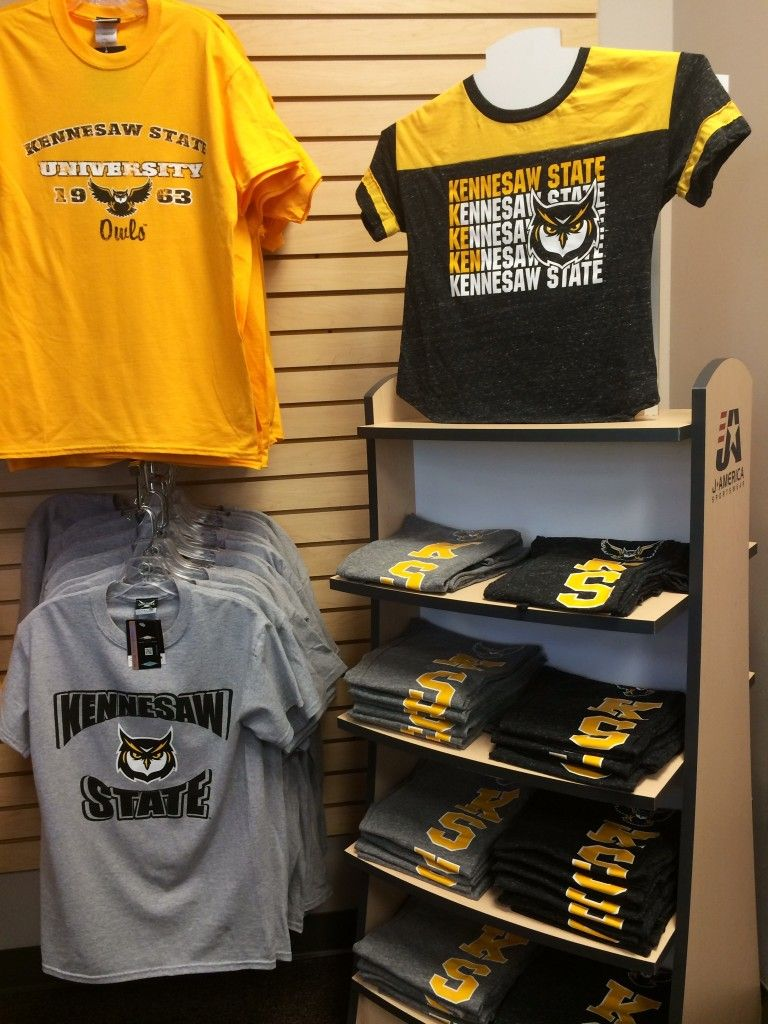 9bf7f04a2be Kennesaw State University apparel. T-shirts and lounge pants with a  drawstring. KSU - Owls - The General Bookstore